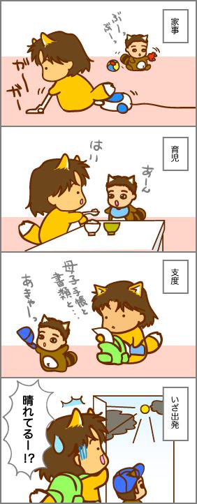 雨男VS晴れ男(その2)