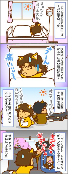 満開の退院~出産(5)~