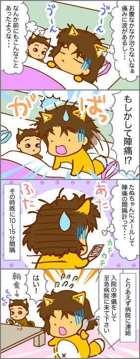 腹痛の理由~出産(3)~