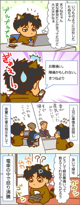 その時たぬちゃんは・・・~出産(5)~