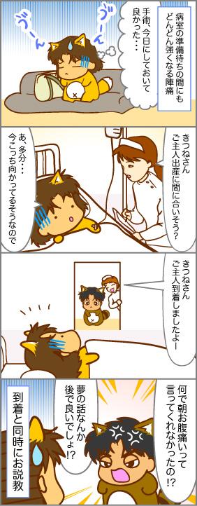 たぬちゃん到着~出産(6)~