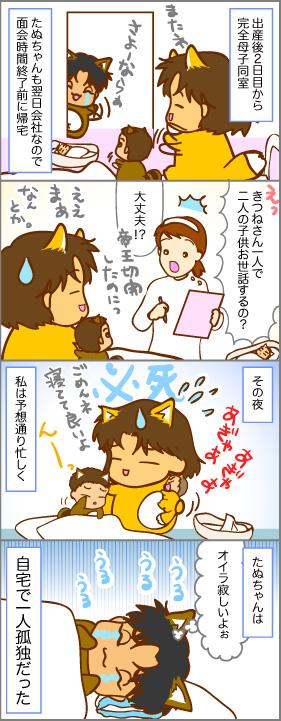 子連れ入院と母子同室~出産(13)~