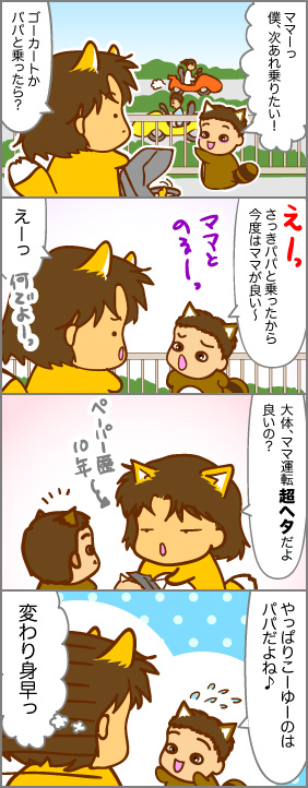 2010年那須旅行記~ゴーカート編~